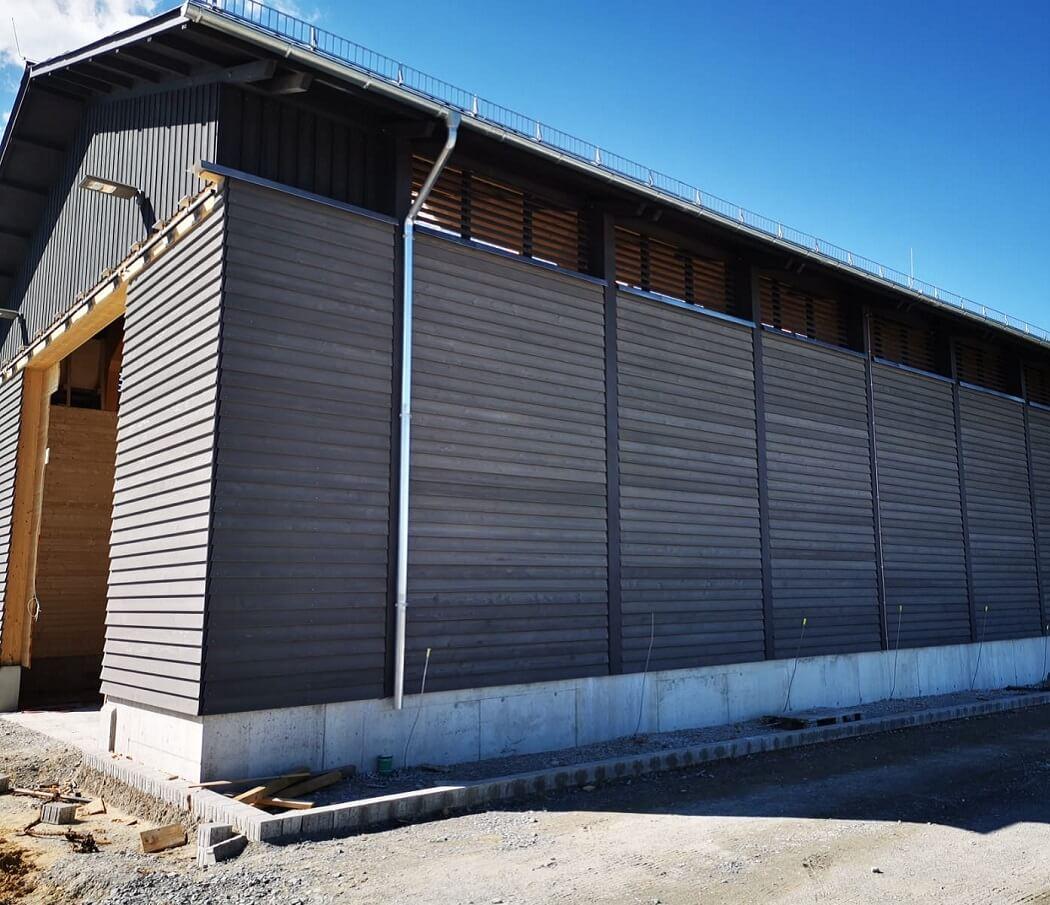 Neubau einer Streuguthalle 3